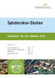 Skoleblad nr. 23 oktober 2012 - Sønderskov-Skolen