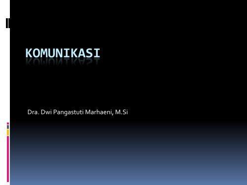 Definisi by Dwi Pangastuti M