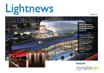 Lightnews Vol 13.pdf - Philips Lighting Controls