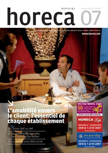 4199 OH aug FR.indd - Fédération Horeca Wallonie