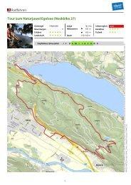 Radfahren Tour zum Naturjuwel Egelsee (Nockbike 37)