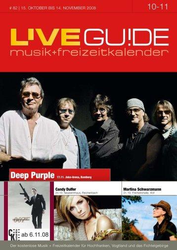 Deep Purple 17.11. Jako-Arena, Bamberg - Livegui.de