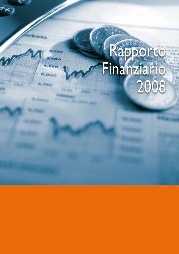 Rapporto Finanziario 2008 - Comune di Reggio Emilia
