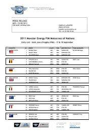 2011 Monster Energy FIM Motocross of Nations - Motocross.is