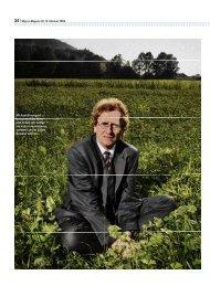 Migros-Magazin, «Nur der Mensch produziert Abfall - Philipp Löpfe