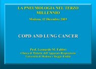 lung cancers in smokers). - Clinica malattie apparato respiratorio