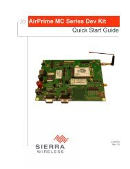 AirPrime MC Series Dev Kit Quick Start Guide - Richardson RFPD