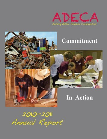 2010-11 Annual Report - Alabama Department of Economic and ...