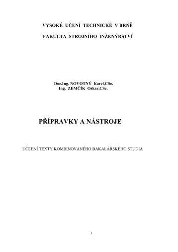 sylabus - PDF (Novotný, Zemčík - 12,9 MB) - VUT UST - Vysoké ...