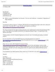 PAR - The IEEE Standards Association