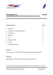 reglement für schweizermeisterschaften im segelkunstflug