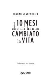 I 10 MESI - 10 Righe dai libri