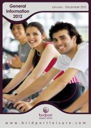 General Information 2012 - Bridport Leisure