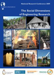The Social Dimensions of Engineering Research - Engineers ...