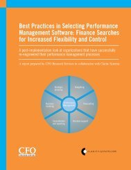 Best Practices in Selecting Performance Management Software ...