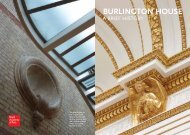 BURLINGTON HOUSE - Royal Academy of Arts