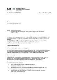 GZ: BMI-VA 1300/0063-III/2/2009 Wien, am 06. Februar ... - TransX