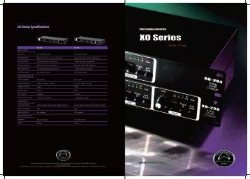 XO Series Brochure - Wharfedale Pro
