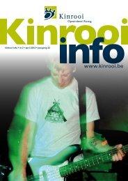 kinrooi-info • nr 2 • april 2013 • jaargang 32 - Gemeente Kinrooi