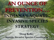 Indiana's Aquatic Invasive Species Strategy