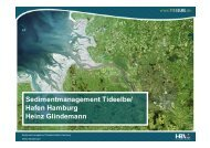 Sedimentmanagement Tideelbe/ Hafen Hamburg Heinz ... - FGG Elbe