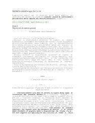 DECRETO-LEGGE 6 luglio 2012, n. 95 - Autorità di Bacino del ...