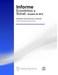 Informe Economico y Social - Octubre 2012 - Ministerio de ...