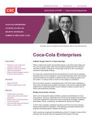 Coca-Cola Enterprises - CSC