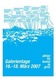 PROGRAMMHEFT (PDF, 373 kB) - Aktuelle Kunst in Graz