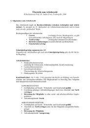 Skriptum Arbeitsrecht 2009