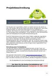 Projektbeschreibung - bregenzerwald-news.at