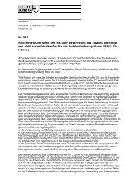 Protokoll Kantonsrat
