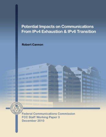 IPv4 Exhaustion, IPv6 Transition, - Saudi Arabia IPv6 Task Force