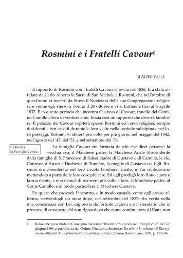 Accedi al testo - Centro Internazionale di Studi Rosminiani