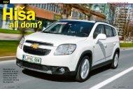 Chevrolet Orlando 1.8 LTZ - Avto Magazin