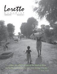 Loretto Magazine, Fall-Winter 2010, part 1 - Loretto Community