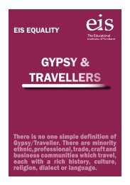 GYPSY & TRAVELLERS - The Educational Institute of Scotland