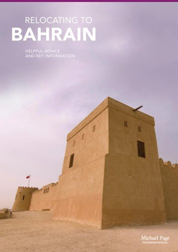Relocating to Bahrain - Michael Page