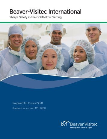 Sharps Safety in the Ophthalmic Setting CE Booklet - Beaver-Visitec ...