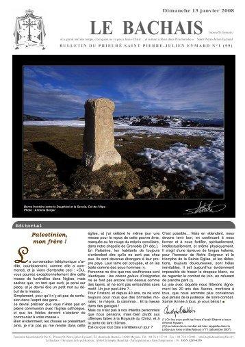 Le Bachais n° 59 - La Porte Latine