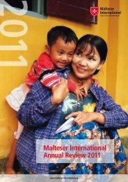 Malteser International Annual Review 2011 - Ordine di Malta