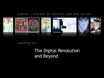 The Digital Revolution and Beyond - ANM102 History of Graphic ...