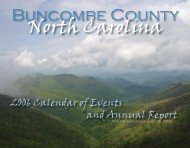 Buncombe County North Carolina