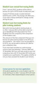 Changes to Student Allowances and Loans - StudyLink - Page 4