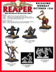 10-15-07 Mailer - Reaper Miniatures