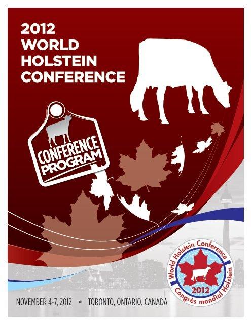 2012 WORLD HOLSTEIN CONFERENCE - Dansk Holstein