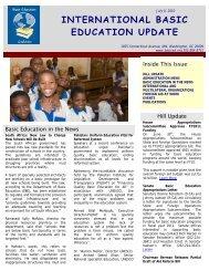 July 9, 2010 - Basic Education Coalition