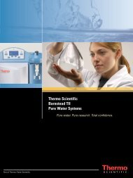 Thermo Scientific Barnstead TII Pure Water Systems