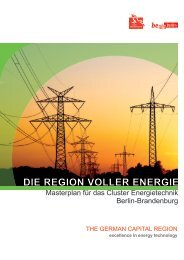 DIE REGION VOLLER ENERGIE - Berlin Business Location Center