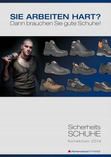 Sie arbeiten hart? Schuhe - Gierth & Herklotz Mietgeräte GmbH